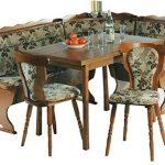 XANA-Möbel Eckbankgruppe Essecke Tischgruppe Eckbank Tisch 2x Stuhl Essgruppe