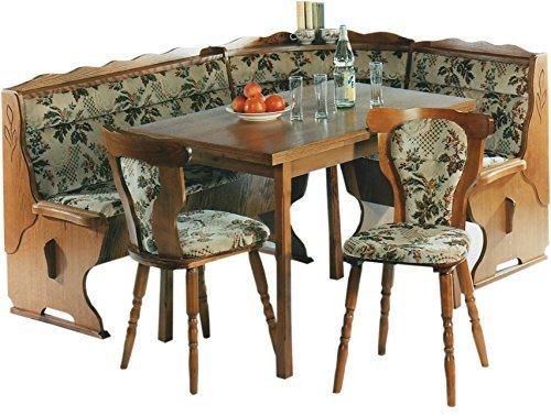 51+1FpJvhoL - XANA-Möbel Eckbankgruppe Essecke Tischgruppe Eckbank Tisch 2x Stuhl Essgruppe