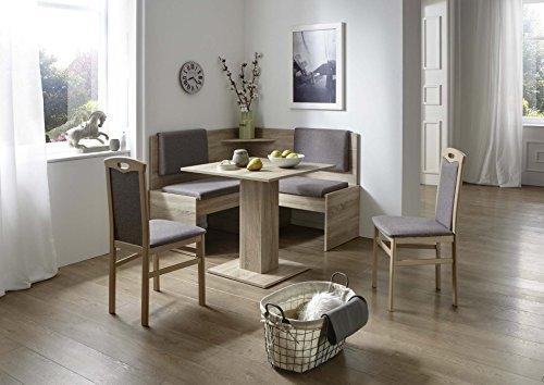 51d+OmwEekL - Eckbankgruppe mit Tisch 75 x 75 cm Eiche Sonoma