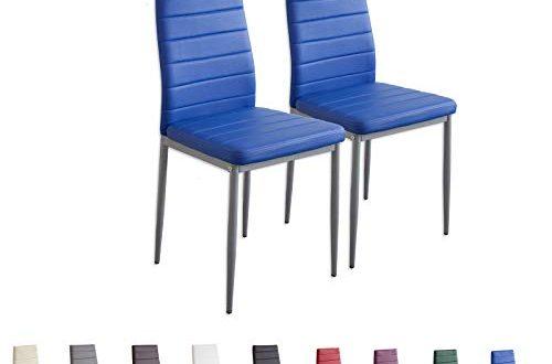 Albatros 2869 MILANO 2x Esszimmerstuhl blau 500x330 - Albatros 2869 MILANO 2x Esszimmerstuhl, blau
